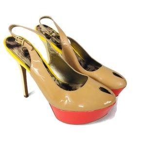 Sam Edelman Color Block Platform Stilettos Heels